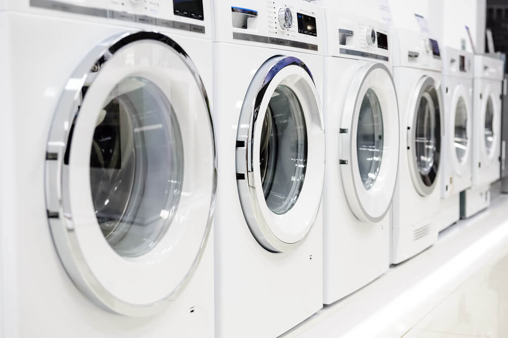 credit card operated laundry machines