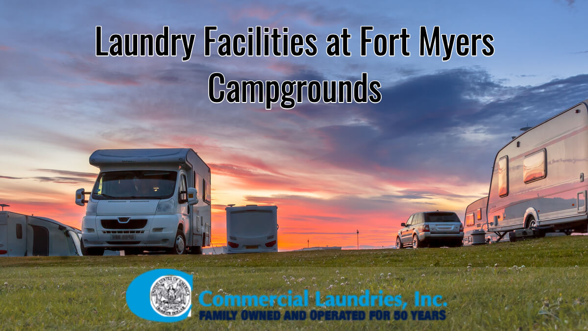 Fort Myers Laundry Facilities at Campgrounds